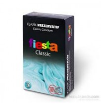 Fiesta Classic Kondom 12'li