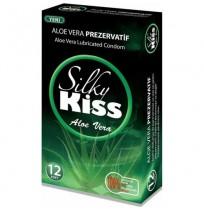 Silky Kiss Aloe Vera ( Kayganlaştırıcılı ) Kondom 12'li