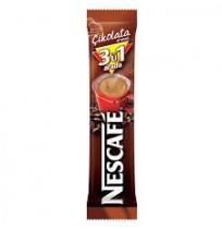 Nescafe 3ü1 Arada Kahve Çikolatalı 13Gr 48'li Paket