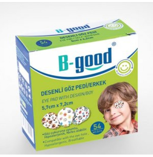B-GOOD GOZ PEDI DESENLI 5*6,2 54'LU ERKEK