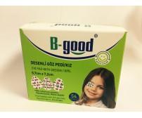 B-GOOD GOZ PEDI DESENLI 5*6,2 54'LU KIZ