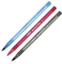 Bic Round Stic Pen M 1,0mm, Kırmızı - Mavi - Siyah