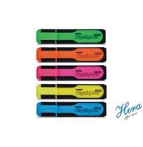 Noki Highlighter 9000S Fosforlu Kalem, Sarı - Pembe - Mavi - Yeşil - Turuncu