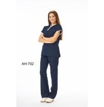 Yarasakol Biyeli Baş Hemşire Forması - Ürün Kodu : AH-702-X