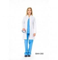 Bayan Uzun Boy Hakim Yaka Önlük (ALPAKA) / Ürün Kodu: BAH-350