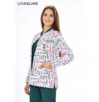 Bayan Desenli Ameliyathane Ceketi - Ürün Kodu : A100-AK