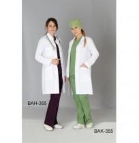 Bayan Fit Kesim Klasik Yaka Uzun Boy Önlük (ALPAKA)  Ürün Kodu: BAK-355